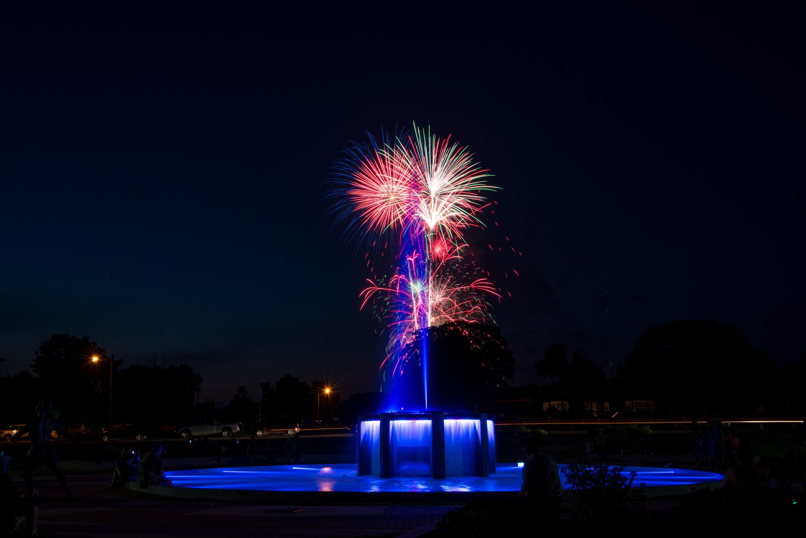 Fireworks-Fountain