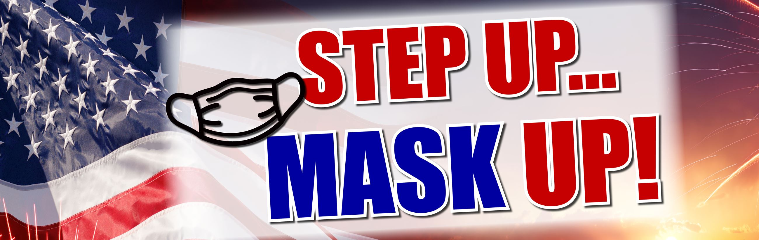 Mask Up Web Banner