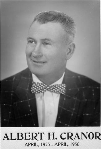 Albert H. Cranor, April, 1955 - April, 1956