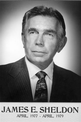 James E. Sheldon, April, 1977 - April, 1979